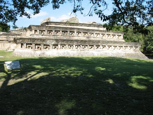 Structure at El Tajin