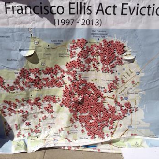 The Ellis Act, a California State Eviction Law, states that a Landlord can Evict a Tenant by Delivering a 120 Day Notice (or a Year for Senior Aged Residents) With the Reasoning Being the Landlord is Leaving the Property Rental Business.