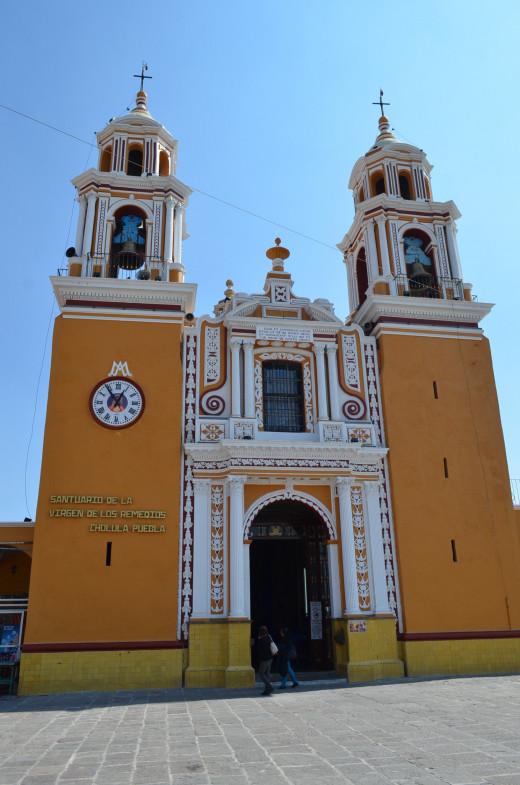 Visiting the church