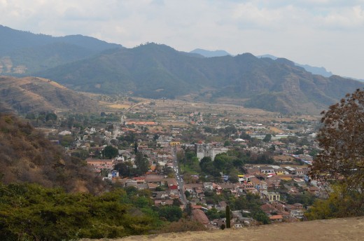 View over Malinalco