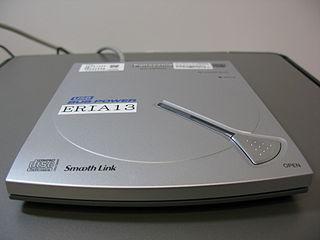 Panasonic DVD Player KXL-CB35AN. A DVD-ROM/CD-RW device made by Panasonic.