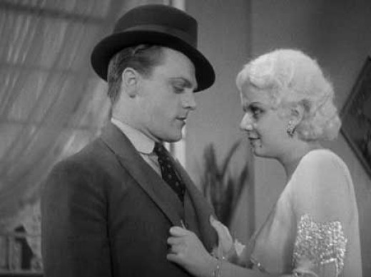With James Cagney in 'The Public Enemy'