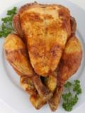 Roast Chicken with Banana Stuffing