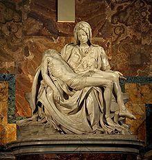 Pieta, from Wikipedia