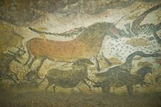horses in Lascaux Caves