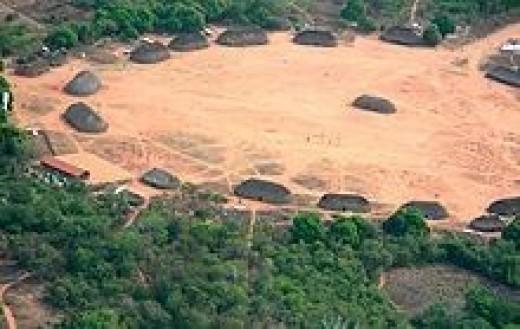 Brazilian Indian Village