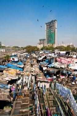 Mumbai, 1 million in 1 square mile