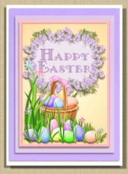 Printable Easter Egg Cards