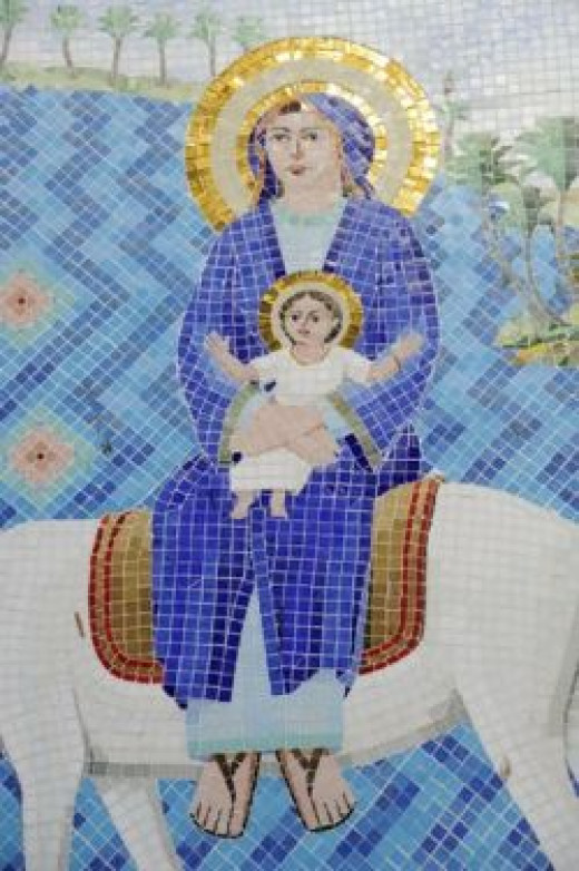 Old Image of Mary