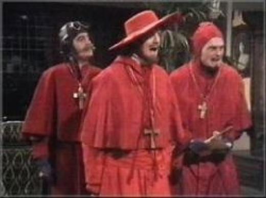 Priests reared i scarlet