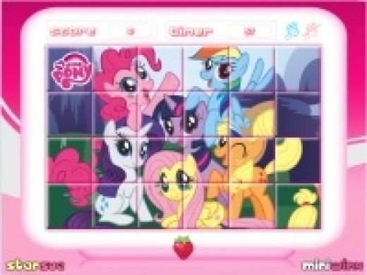 My Little Pony Rotating Puzzle