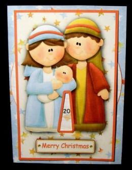 Nativity Advent Wheel Calendar
