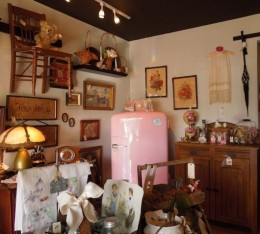 A corner of Two Susans Antique Shop
