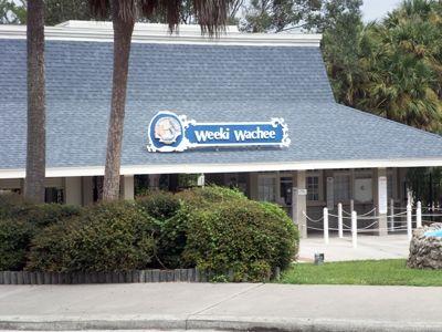 Entrance to Weeki Wachee