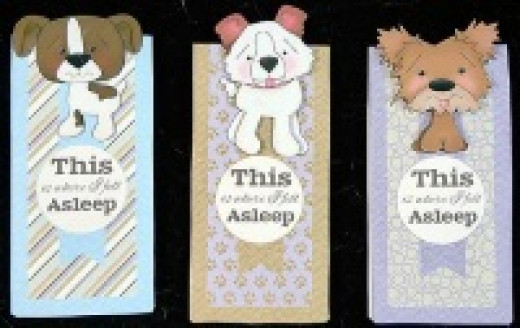 puppy bookmarks