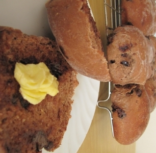 choc chip bread rolls recipe