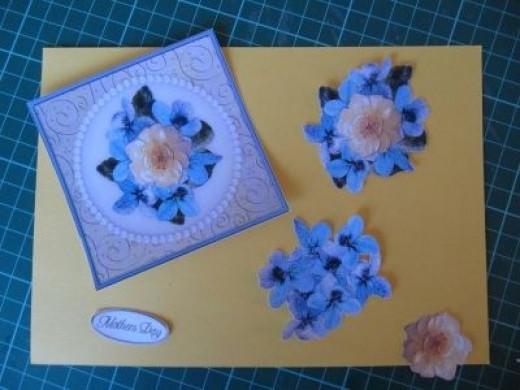 Cut Out Decoupage Card Elements