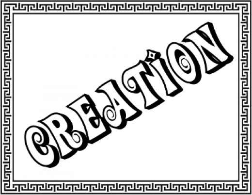 Creation title page