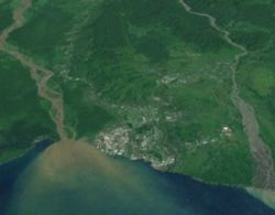 Lae from Space