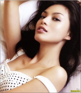 Malaysian Model/Actress Carmen Soo