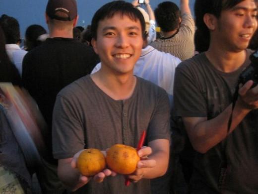 Georgetown Orange Throwing Festival