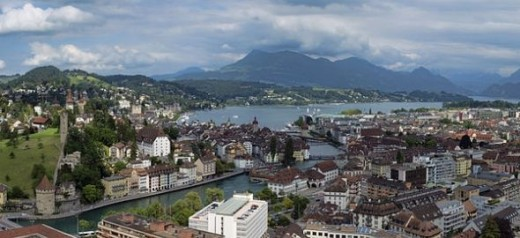 Lucerne, Switzerland - The Most Populated City in Switzerland
