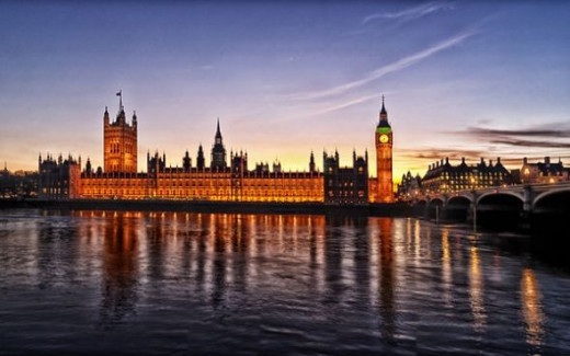 Westminster Palace, England - Where the Houses of Parliament Reside