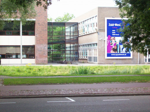 Zuidwest College, a High School in The Hague, the Netherlands