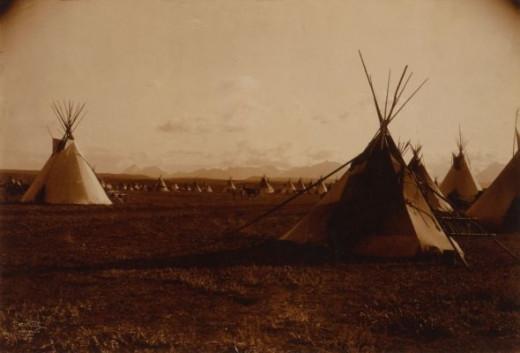 Blackfoot Teepees