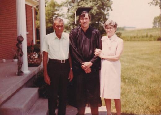 mom dad my graduation