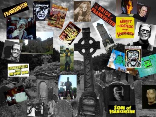 Frankenstein Collage