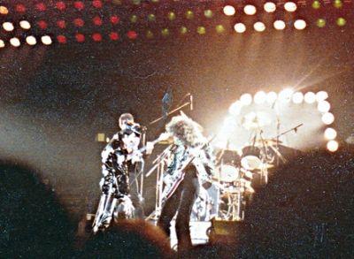 Queen with Freddy Mercury