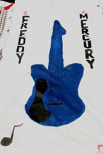 Freddy Mercury Aids Quilt