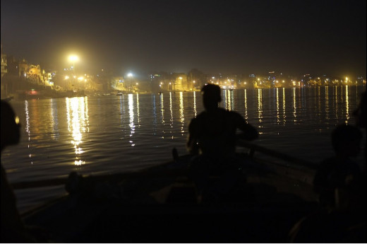 River-faring by night