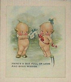 1910's Kewpie Doll Valentine