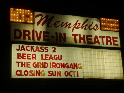 Memphis Drive In, Memphis Tennessee