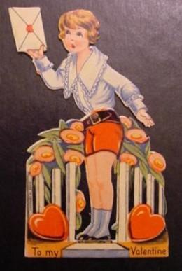 1920's Mechanical Valentine