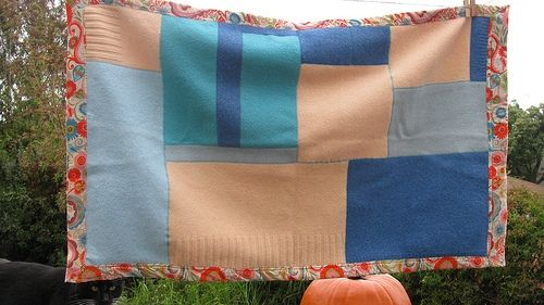 Upcycling Sweaters into Home Décor
