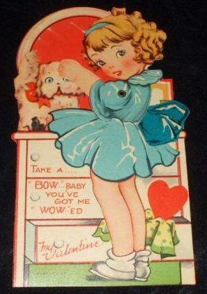 1930's Shirley Temple Inspired Valentine