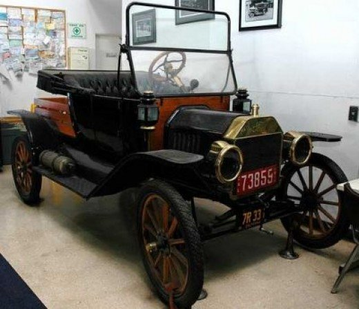 1910's - 1920s Model T Ford Woodie