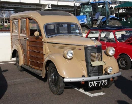 1930's Ford Woodie