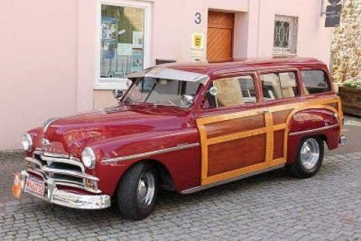1950's Plymouth Woodie Wagon