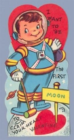 1960 Valentine Boy on Moon