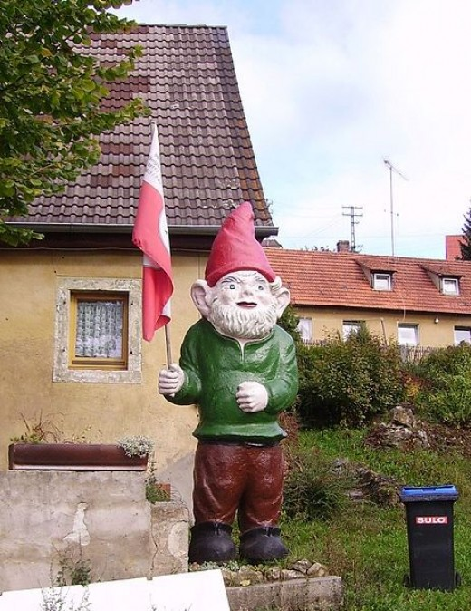 Gnome in Hollfeld, Germany