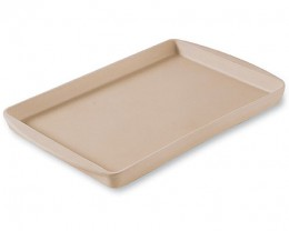 Stoneware Bar Pan  -non-stick  -virtually indestructible  -warranty