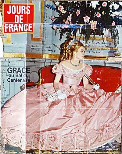Princess Grace at Her Wedding