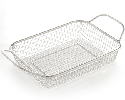 BBQ Basket  -convenient handles  -great for grilling