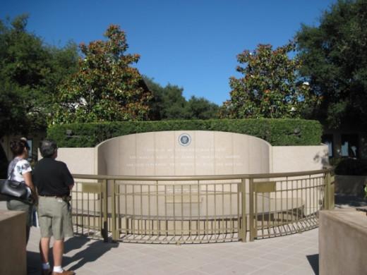 Ronald Reagan's Burial Place