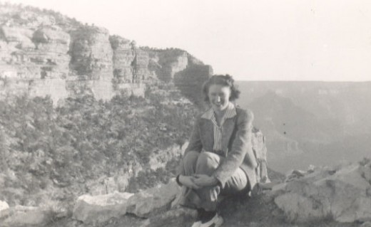 I believe this was taken on the same trip, since the date is also 1941. I would appear in 1943.