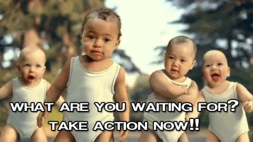 It's time to take action!